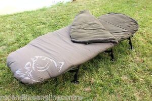 Nash NEW Carp Fishing Frostbite + Sub Zero Wide Boy Sleeping Bag