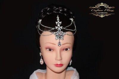 Tikka Bijoux De Front Stirnkette Accessoires Pour La Tete Strass