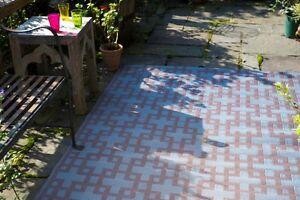 Rheinsberg-Powder-Blue-Warm-Taupe-Outdoor-Rugs-Floor-Mats-Recycle-Go-Green