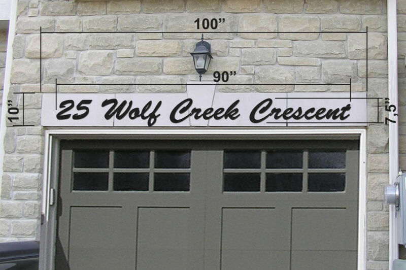House Numbers Street Address Custom Made Signs Installed Other Markham York Region