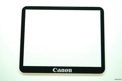 CANON EOS 5D MARK II LCD DISPLAY WINDOW + ADHESIVE TAPE GENUINE OEM NEW PART