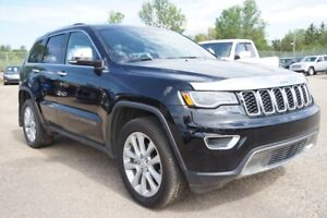 2017 Jeep Grand Cherokee Limited, 4x4,Leather,Nav,Panoramic roof