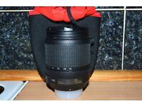 nikonDX/nikkor 18-105mm 3.5-5.6G ED VR lens
