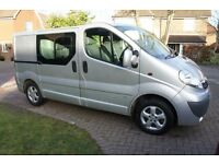 Vauxhall Vivaro Crew Cab Tech Shift Automatic, Sportive, 1owner FSH 68k