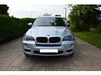 2008 BMW X5 3.0d M SPORT SILVER DIESEL AUTOMATIC 7 SEATER
