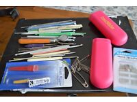 A SELECTION OF SEWING STUFF