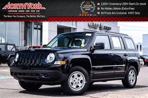 2016 Jeep Patriot Sport Manual|Trac. Cntrl|Hill Start Assist|AM,