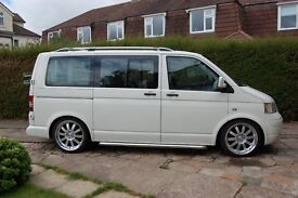 VW, T5, Transporter Shuttle, Current owner is a Porsche Technician and I have spent thousands on it.