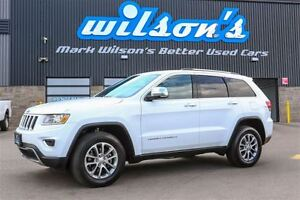 2016 Jeep Grand Cherokee LIMITED  4WD! LEATHER! SUNROOF! REAR CA