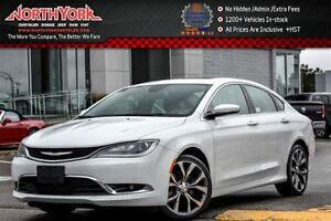 2016 Chrysler 200 C|PanoSunroof|Nav|RearCam|R-Start|HtdFrSeats|D