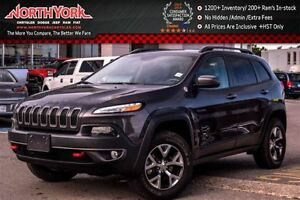 2016 Jeep Cherokee Trailhawk 4x4|Trailer Tow,Comfort&Convenience