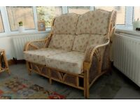 2 Seater Sofa, 2 Matching Chairs & Coffee Table