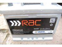 RAC001 PREMIUM VARTA CAR BATTERY - Used for 1 Month CROSBY LIVERPOOL