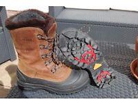 "OLANG ""Alpi"" Snow boots size 9"