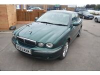 2003 JAGUAR X-TYPE V6 MOT UNTIL JUNE 2018