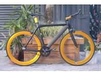 "Brand new NOLOGO ""X"" TYPE single speed fixed gear fixie bike/ road bike/ bicycles + 1year warranty h"