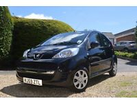 Peugeot 107 5 Door Hatchback - 2 Lady Owners Only - £20 A Year Tax, Low Insurance, Black