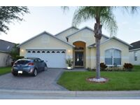 Florida Villa, 4 bedrooms, sleeps 8, Pool/Spa. Games room. Ideal for 2 families. 15mins from Disney.