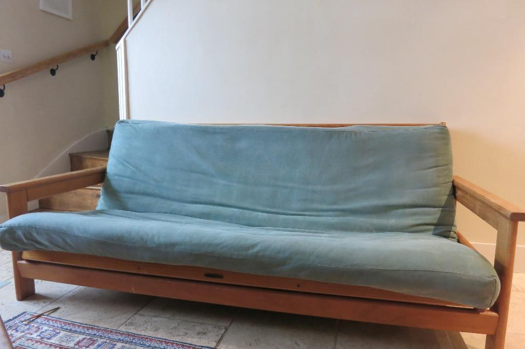 Natural Solid Pine Futon Sofa Bed By Restwood From New Zealand