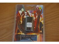 4GB MP3 player Tesco, barnd new packaged