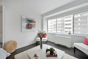 Large studio, Golden mile, downtown Montreal, Mcgill