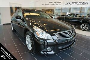2012 Infiniti G37X AWD CUIR TOIT OUVRANT **PROMO
