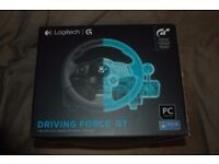 Logitech Driving Force GT (PC & PS3) - Boxed + 1 (without box).