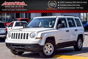 2016 Jeep Patriot Sport CleanCarProof Cruise&Traction Control A/