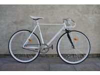Brand new single speed fixed gear fixie bike/ road bike/ bicycles + 1year warranty & free service cp