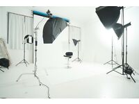 PHOTOGRAPHY STUDIO TO HIRE! £60 FOR 4 HOURS, BIRMINGHAM CITY CENTRE. PHOTOGRAPHERS ALSO AVAILABLE