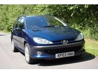 2003 Peugeot 206 SW Si (138bhp GTi engine) Spares or Repair