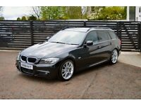 2009 E91 320D M SPORT LCI ESTATE FSH 2 KEYS LOW FINANCE 6 MTH WTY NOT E90 A4 PASSAT £66 PER WEEK