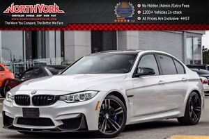 2015 BMW M3 Manual|Premium,Executive,M Performance Carbon Pkgs