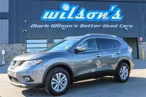 2015 Nissan Rogue $78WK, 4.74% ZERO DOWN! SV AWD! PANORAMIC SUNR
