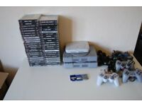 PlayStation One Bundle - 3 Consoles, Controllers, Memory Cards, 45 Games