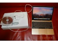 "12"" Macbook (Gold) Hardly Used & Boxed"
