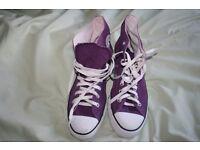 Converse UK8 EU41.5 Purple