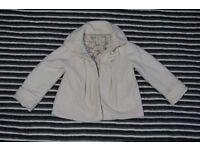 Girls Coat NEXT White 3-4 years old