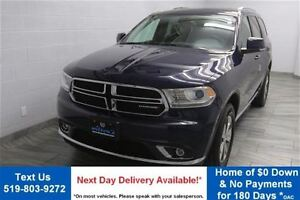 2015 Dodge Durango LIMITED AWD V6 w/ NAVIGATION! LEATHER! REVERS