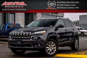 2016 Jeep Cherokee Limited 4x4 SafetyTec,Luxury,Tech.,Trailer To