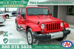 2015 Jeep WRANGLER UNLIMITED Sahara - MDG WARRANTY 4x4