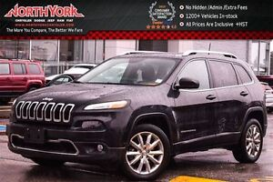 2016 Jeep Cherokee Limited Nav|R.Start|HTD Frnt Seats|Sat Radio|
