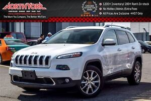 2014 Jeep Cherokee Limited|Luxury Grp|Nav|Htd/Vntd Front Seats|D
