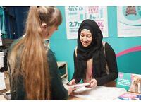 Volunteer Weekend Retail Assistants - PDSA Charity Shop, Brighton