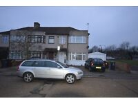 3 bed house in Dagenham on warley avenue with garage D.S.S welcome