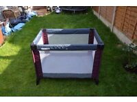 Mamas And Papas Travel cot in good condition. Barely used. Collection in Grays