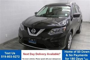 2016 Nissan Rogue S AWD w/ REVERSE CAMERA! POWER PACKAGE! BLUETO
