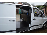 mercedes-benz vito compact van, full history, 1 owner, low miles, MOT.