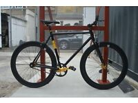 Brand new NOLOGO Aluminium single speed fixed gear fixie bike/ road bike/ bicycles nnu