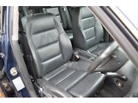 2004 AUDI A4 B6 SPORT SALOON BLACK LEATHER SEATS